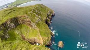 Otago Peninsula Lovers Leap Aerial 2