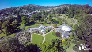 Dunedin Botanic Gardens Aerial