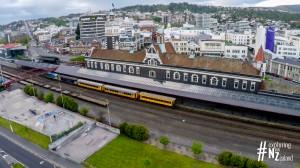 Dunedin Railway Station Aerial 4