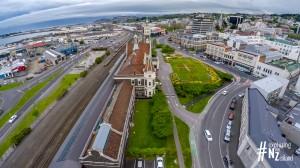 Dunedin Railway Station Aerial 3