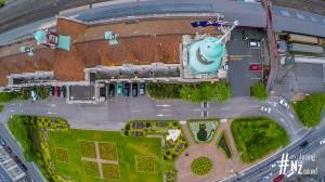Dunedin Railway Station Aerial 2
