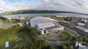 Forsyth Barr Stadium aerial