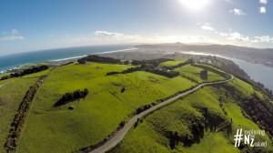 Otago Peninsula Aerial