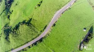 Otago Peninsula High Cliff Road Aerial