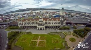 Dunedin Railway Station Aerial