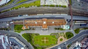 Dunedin Railway Station Vertical Aerial